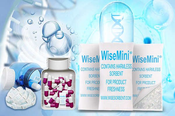 WiseMini® Silica Gel Desiccant for Medical Use